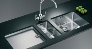 ساده ترین راه برای تمیز کردن سینک ظرفشویی