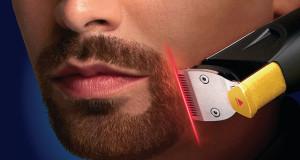 ریش تراش مجهز به نور لیزری برای خط اصلاح آقایان