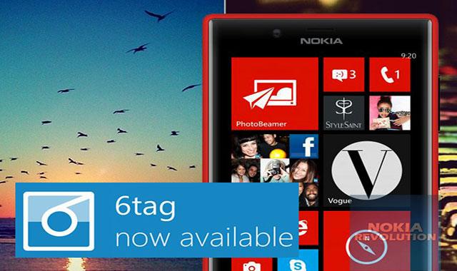 ۶tag اپلیکیشنی مشابه اینستاگرام برای ویندوزفون