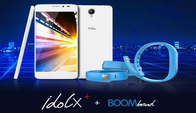 گوشی idol X+ با دستبند Boom band