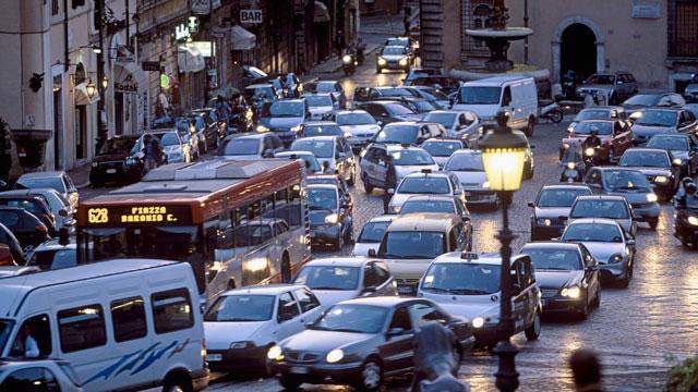 حل معضل ترافیک شهر رم با استفاده از توئیتر