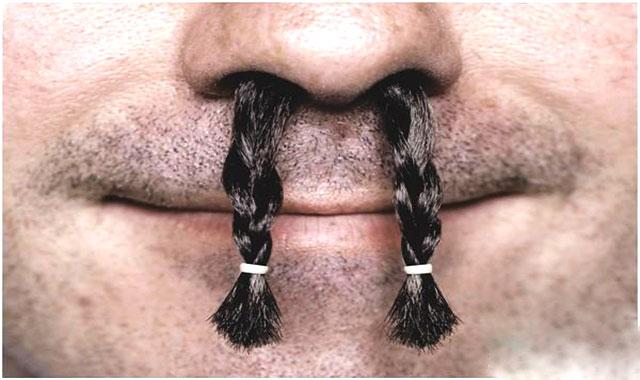 آیا برداشتن موی بینی مضر است؟