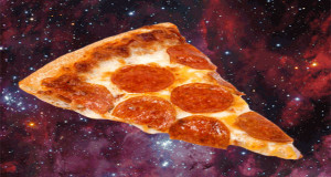 پای پیتزا به فضا هم باز شد