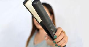 فر کردن موها با استفاده از اتوی مو