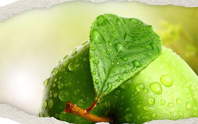 """آب """"سیب سبز"""" جادو می کند"""