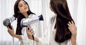 ۱۰ فرمان سشوار کشیدن مو