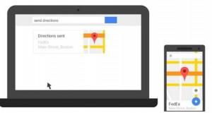 از این پس در رایانه خود و در نقشه گوگل مسیر را پیدا کنید و به گوشی خود ارسال کنید!