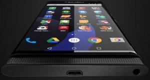 انتشار رندرهای جدیدی از تلفن هوشمند اندرویدی بلک بری ونیز