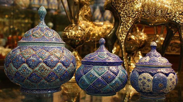 ایران در عرصه صنایع دستی یکی از سه قدرت بزرگ جهان است