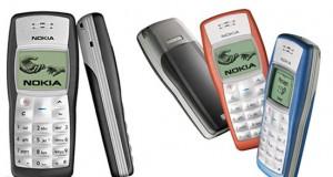 گوشی ۱۱۰۰ نوکیا دارای بالاترین آمار فروش بازار تلفن همراه