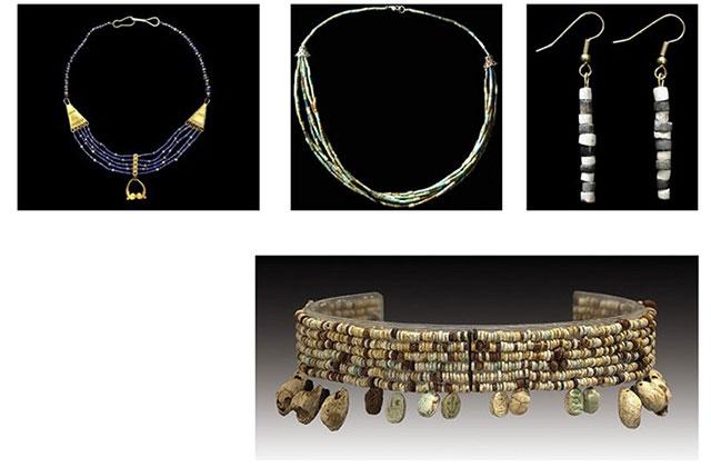گردنبندها، دستبندها و… پیش از میلاد را در موزه شوش ببینید
