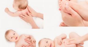 چگونه کودک را ماساژ دهیم؟