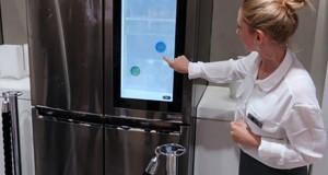 جدیدترین یخچال ال جی با ویندوز ۱۰ معرفی شد