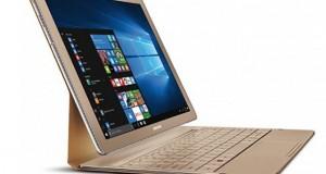 گلکسی تب پرو اس (Galaxy TabPro S) سامسونگ این بار در نسخه طلایی رونمایی شد