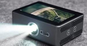 عرضه Video Projector جیبی دارای نمایشگر لمسی
