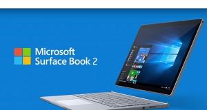 آغاز پیش فروش Microsoft Surface Book2