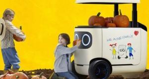 Honda یخچال صندوق دار ربات گونه ای می سازد که می توانید آن را با خود به پیک نیک ببرید