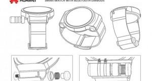 ثبت اختراع جدید هواوی، ساعت هوشمند با ایرباد بلوتوث