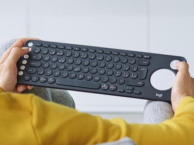 کیبورد لاجیتک برای تلویزیون های هوشمند