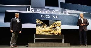 عرضه تلویزیون رولی جدید ال جی با کیفیت ۴K در بهار ۲۰۱۹