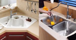 سینک ظرفشویی کورین بهتر است یا استیل؟