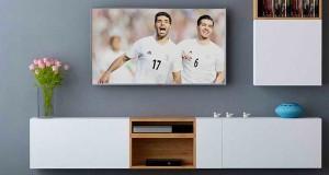 میز تلویزیون دیواری، راهکاری برای کاهش فضای پِرت