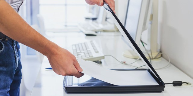 آموزش آسان اسکن کردن سند یا عکس با سیستم عامل ویندوز